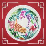 Kitten-Chinese-Paper-Cutting