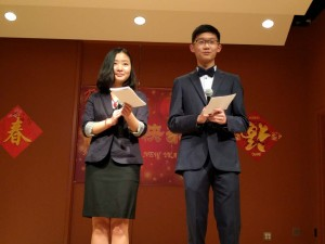 Emcees - Fei and Andrew