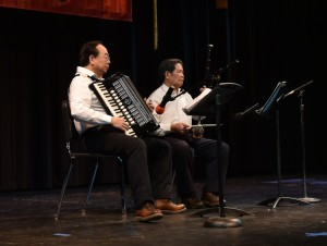 Accordion and erhu